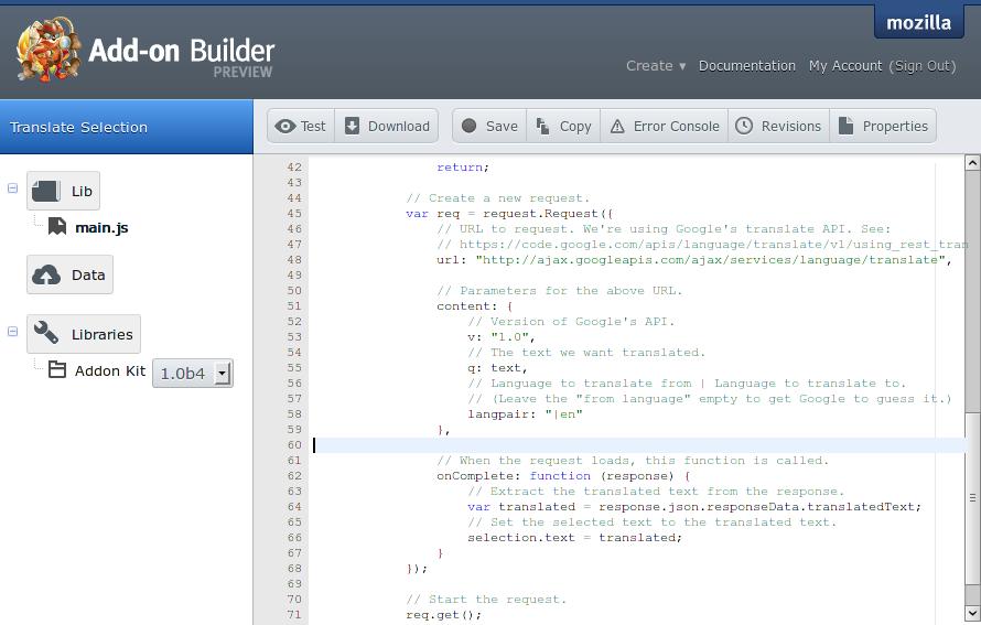 Talk: Introduction to JavaScript & Firefox Add-on Development